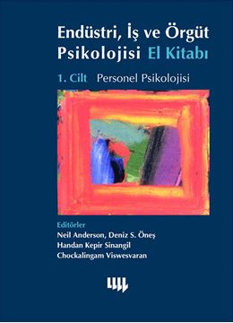 Endüstri, İş ve Örgüt Psikolojisi El Kitabı 1.Cilt Personel Psikolojisi resmi