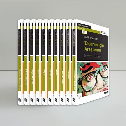 Grafik Tasarım Temelleri Seti (10 Kitap) için detaylar