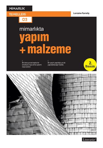 Yapım + Malzeme  2. Basım için detaylar