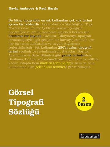 Görsel Tipografi Sözlüğü 2. Basım için detaylar