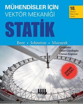 Mühendisler için Vektör Mekaniği Statik 10. Metrik Basımdan Çeviri  (Ekonomik Baskı) resmi