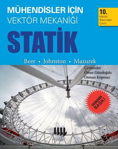 Mühendisler için Vektör Mekaniği Statik 10. Metrik Basımdan Çeviri  (Ekonomik Baskı) için detaylar