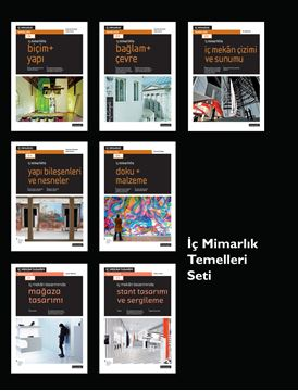İç Mimarlık Temelleri Seti (7 Kitap) resmi