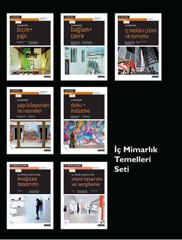 İç Mimarlık Temelleri Seti (7 Kitap) için detaylar