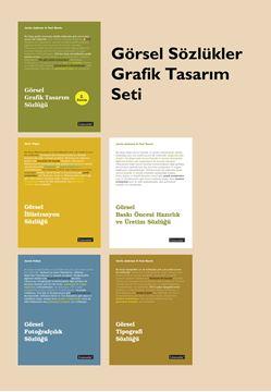 Görsel Sözlükler  Grafik Tasarım Seti (5 Kitap) resmi
