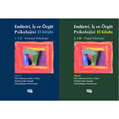 Endüstri, İş ve Örgüt Psikolojisi El Kitabı 2 Cilt Takım için detaylar